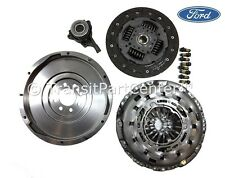 GENUINE FORD SOLID FLYWHEEL & CLUTCH , CSC FORD TRANSIT 2.4 6 SPEED MK7 2006 ON
