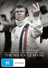 Steve McQueen: The Man and Le Mans  - DVD - NEW Region 4