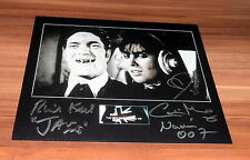 Richard Kiel & Caroline Munro *Bond 007*, original signed Photo 20x25 cm (8x10)