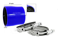 """BLUE Silicone Reducer Hose 3Ply 2.75""""-2.5"""" 70-63 Supercharger Intake Intercooler"""
