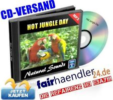 CD VERSAND HOT JUNGLE DAY Naturgeräusche natural Nature Sounds 10 Audio E-Lizenz