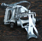 Vintage MKS AR-8 RoadBike Track Pedals njs Cages Fixie Racing Fixed Gear Bicycle