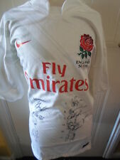 2011 Match Worn and Signed Turner England Rugby 7's Shirt (21048)