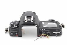 NIKON D700 TOP COVER ASSEMBLY PART WITH DIAL BUTTON FLEX NO LCD NO FLASH