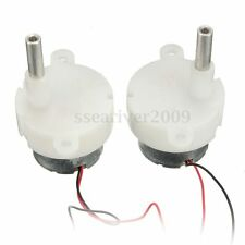 2PCS DC 3-12V 16RPM Low Speed Stage Lighting LED Light Speed Regulating Motor