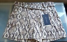 Zara Ladies Shorts Sze 10 New Animal Print Smart Hot Pants Going Out BNWT £29.99