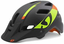 Giro Feature MIPS Helmet - Men's Matte Black/Lime/Flame Medium
