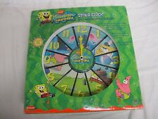 Spongebob Squarepants Spin-O-Clock With Amazing Spin Technology Nickelodeon