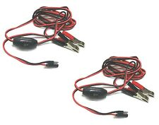 (2) 8 ft. WIRE HARNESS / POWER CABLES 12V ShurFlo / Remco Demand Water Pumps