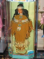 1996 AMERICAN NATIVE INDIAN PRINCESS BARBIE DOLLS OF THE WORLD COLLECTION