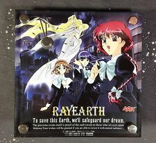 Magic Knight Rayearth Anime OVA OAV Desk Clock Official Emeraude Umi Fuu Hikaru