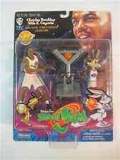 """CHARLES BARKLEY & WILE E. COYOTE 5"""" Action Figures Sealed Space Jam 17654"""