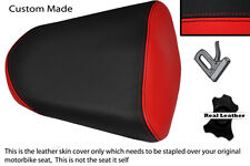RED & BLACK CUSTOM CUSTOM FITS HONDA CBR 125 R 11-13 PASSENGER REAR SEAT COVER