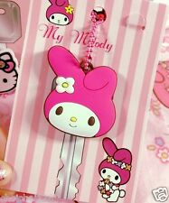 My Melody Pink Soft Rubber Key Cap Cover Chain x 1pc ML10