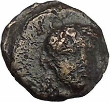 LARISSA PHRIKONIS in AEOLIS 400BC River-god Apollo Ancient Greek Coin i50531