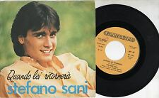 STEFANO SANI disco 45 MADE in ITALY Zucchero Fornaciari QUANDO LEI RITORNERA 82