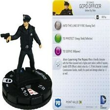 DC COMICS HEROCLIX FIGURINE STREETS OF GOTHAM : GCPD Officer #001