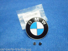 BMW e36 323i Cabrio Emblem NEU Motorhaube Bonnet Hood Made i Germany NEW 8132375