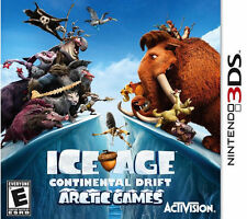 Nintendo 3DS Game ICE AGE CONTINENTAL DRIFT ARCTIC GAMES