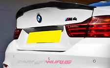 BMW M4 Carbon Fibre Rear Spoiler F82 Carbon Fiber -UK Stock- M Performance Style