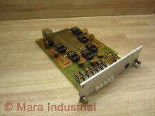 Reliance 0-51839-8 PC Board Relay Card - Used