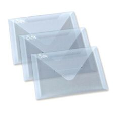 SET 3 BUSTE IN PLASTICA PORTA FUSTELLE THINLITS FRAMELITS BIG SHOT ACCESSORIO