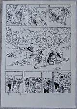 Hergé Tintin au Tibet 36 Copies de Bleu d'imprimerie Planche 28 à 63 A4 Superbe