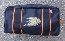 Anaheim Ducks NHL Pro Stock Toiletry Hockey Bag ~ Team Issue ~ Made in USA