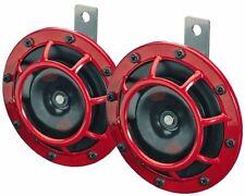 GENUINE HELLA Supertone Horn Kit 500HZ Red 003399801