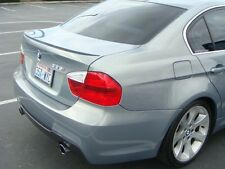 BMW F30 2011-2016 Unpainted Trunk Lip Spoiler - M3 Style