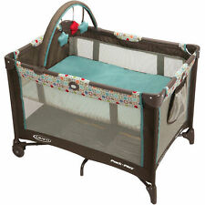 New Graco Pack n Play On the Go Playard Twister Bassinet Playpen Baby Crib
