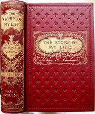 RARE 1897 1stED STORY OF MY LIFE MARY LIVERMORE ABOLITIONIST CIVIL WAR LINCOLN