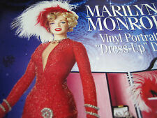 Franklin Mint MARILYN MONROE DRESS UP Doll Ad Advertisement ONLY w/Wardrobe