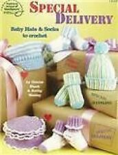 Special Delivery Baby Hats & Socks To Crochet Pattern - 7 Hat & Sock Designs