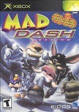 Mad Dash Racing COMPLETE WORKS XBOX Game MINT!! FREE DOMESTIC SHIPPING!!
