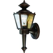 Rust Outdoor Patio / Porch Exterior Light Fixture #544213
