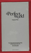 A Perfect World Special Screening Promo VHS Movie Clint Eastwood Kevin Costner