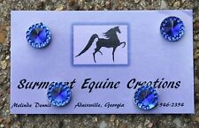 Horse Show Number Magnets - Blue - Saddleseat, Hunt Seat, Western
