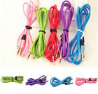 Stereo Audio Aux Headphone Cable Extension Cord for iPhone iPod MP3 3.5MM NEW tr