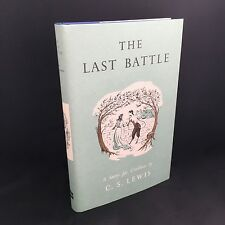 The Last Battle - C. S. Lewis Limited Facsimile First Hardback HB Edition *NEW*