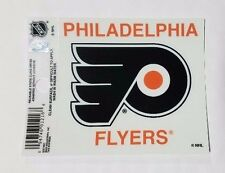 "Philadelphia Flyers 3"" x 4"" Small Static Cling - Truck Car Window Decal NEW NHL"