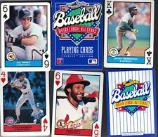 1990 U.S. Playing Cards Unopened deck of 52 cards Major League All Stars