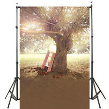5x7ft Big Tree Sunshine Outdoor Photography Backdrop Background Studio Props