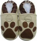 carozoo paw cream 6-12m soft sole leather baby shoes