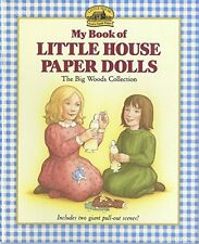 My Book of Little House Paper Dolls (pb) by Laura Ingalls Wilder NEW