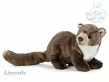 Pine Marten Plush Soft Toy by Living Nature.25cm AN407