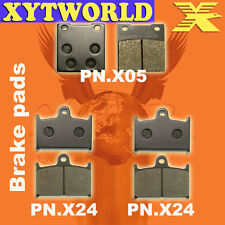 FRONT REAR Brake Pads for Suzuki GSXR 750 1986-1993