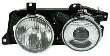 Left side headlight elec. LWR for BMW 5 Series E34 7 Series E32 HALOGEN lens