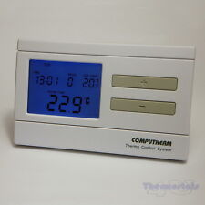 Programmable Thermostat Quality Room Stat 6 times 7 days Volt Free Computherm Q7