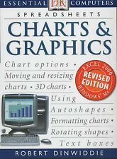 CHARTS AND GRAPHICS REVISED (ESSENTIAL COMPUTERS), ROBERT DINWIDDLE, Used; Good
